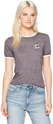 RVCA Women's Cold Soul Ringer Tee