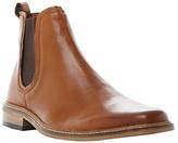 Dune Malaga Leather Chelsea Boots, Tan