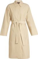 The Row Trentz twill trench coat