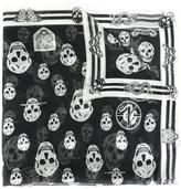 Alexander McQueen skull print scarf - women - Silk/Modal - One Size