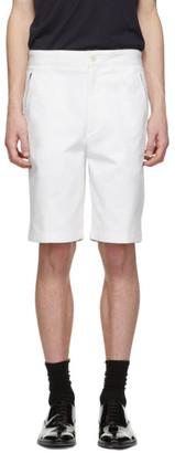 Joseph White Stretch Cotton Drill Pins Shorts
