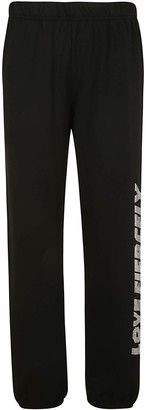 Chiara Ferragni Love Fiercely Jogging Track Pants