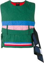 Craig Green Diamond quilt vest