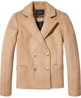 Scotch & Soda Piped Wool Peacoat