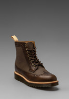 Dr. Martens Marcus Brogue Boots in Desert Star/Tan