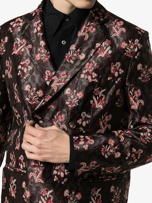 Edward Crutchley Floral-Jacquard Blazer