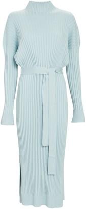 Proenza Schouler Slouchy Rib Knit Midi Dress