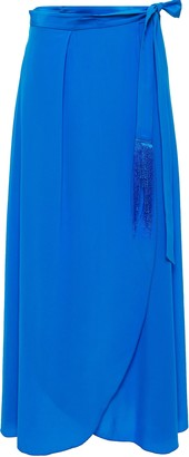 Forte Forte Forte_forte Silk Crepe De Chine Maxi Wrap Skirt
