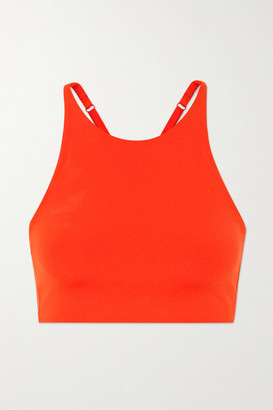 Girlfriend Collective Topanga Stretch Sports Bra - Red