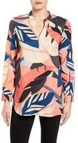 Vince Camuto Women's Modern Tropics Tunic Blouse