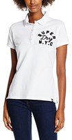 Superdry Women's Applique Polo T-Shirt,XS
