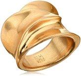 "Robert Lee Morris Femme Petal"" Sculptural Gold Ring, Size 8.5"