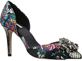 Carvela Guided Two Part Embellished Court Shoes, Multi/Other