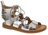 Chinese Laundry by Women's Bevelled Metallic Gladiator Sandal