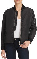 Black Orchid Bomber Jacket