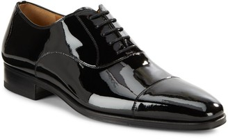 Magnanni Patent Leather Oxfords