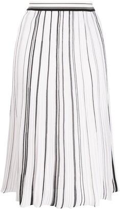 Missoni Flared Pleated Skirt