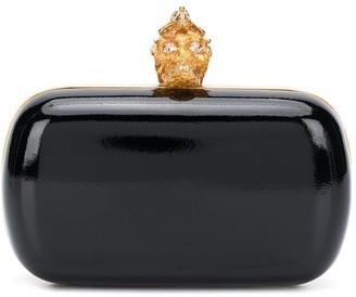 Alexander McQueen Skull embellished box clutch bag