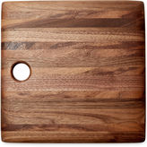 Phil Gautreau Wood Design Square Cutting Board, Walnut