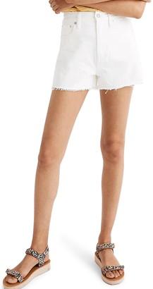 Madewell The Momjean High Waist Shorts