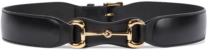 Gucci Horsebit leather belt
