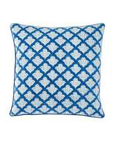 "Roberta Roller Rabbit Jemina Pillow, 18""Sq."