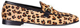 Topshop Kendall Leopard Print Loafers