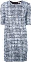 Lanvin bouclé knit dress - women - Silk/Cotton/Polyester/Wool - 36