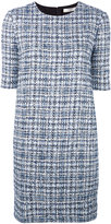 Lanvin bouclé knit dress - women - Silk/Cotton/Polyester/Wool - 38