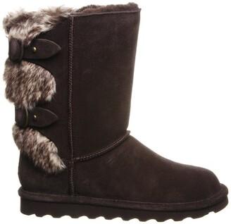 BearPaw Eloise Faux Fur Buckled Strap Boot