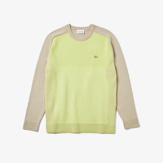 Lacoste Men's Motion Breathable Color-Block Sweater