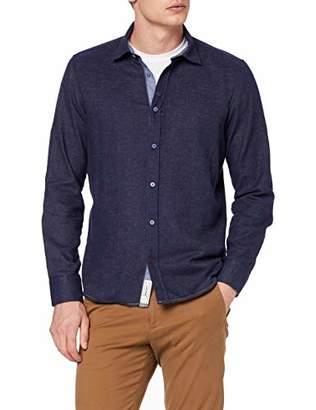 Signum Men's 193131259-663 Casual Shirt, (Estate Blue 663), 20 (Size: XX-Large)