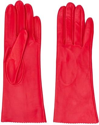 Manokhi Textured Scalloped Edge Gloves