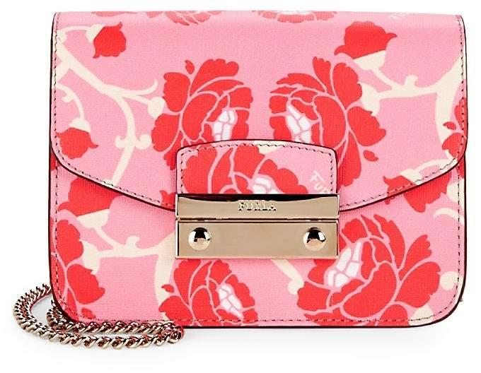 Furla Women's Julia Leather Mini Shoulder Bag