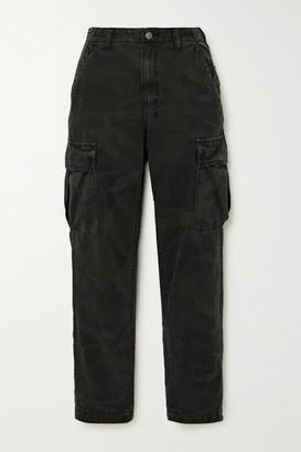 Ksubi Equaliser Camouflage-print Denim Straight-leg Cargo Pants