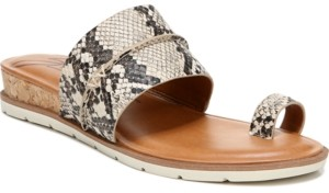 Zodiac Adelanto Toe-Ring Demi-Wedge Sandals Women's Shoes