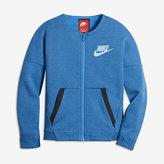 Nike Sportswear Tech Fleece Big Kids' (Girls') Jacket (XS-XL)