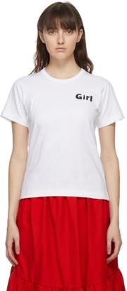 COMME DES GARÇONS GIRL White Girl T-Shirt