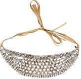 Jennifer Behr Crystal-Embellished Headband