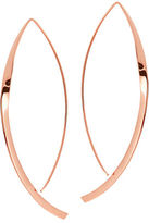 Lana Large 14K Twist Arch Hoop Earrings