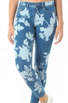 Funky Soul Printed jeans