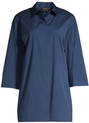 Lafayette 148 New York Wade Tunic Shirt