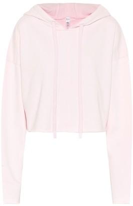 Alo Yoga Edge cotton-blend cropped hoodie