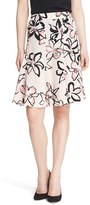Kate Spade Women's 'Tiger Lily' Floral Print Skirt