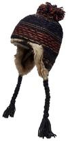 Mantaray Grey Reverse Knit Trapper Hat