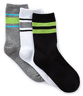 Class Club 3-Pack Tube Crew Socks