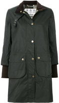 Barbour cropped sleeved coat