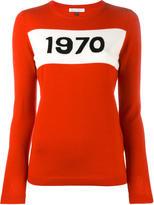 Bella Freud 1970 intarsia sweater