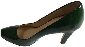 Miu Miu Green Patent leather Heels