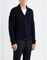 Sandro Warren Merino Wool-blend Cardigan